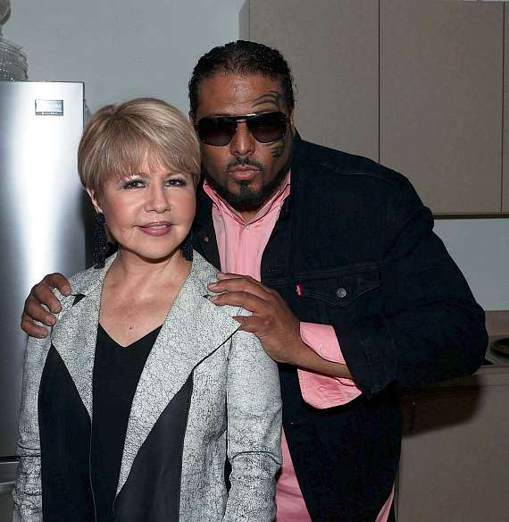 Pia Zadora with Al B Sure