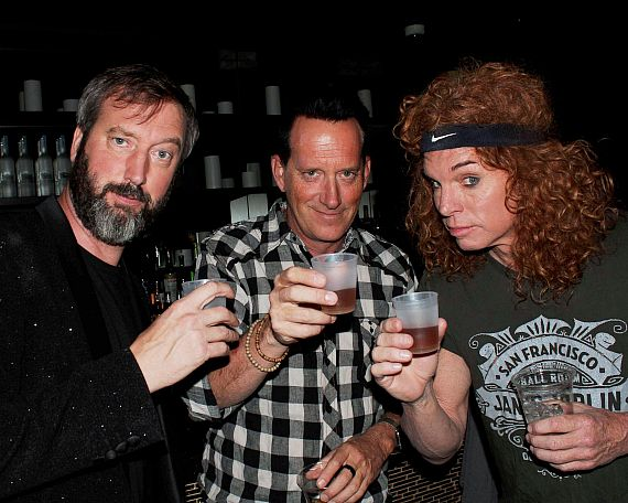 Comedian Tom Green, Hypnotist Anthony Cools and Carrot Top at Bally's
