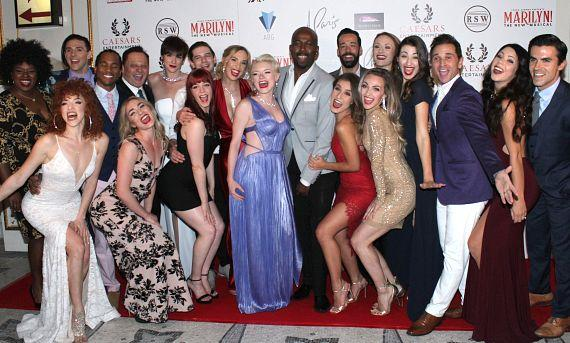 """Cast of """"Marilyn! The New Musical"""""""