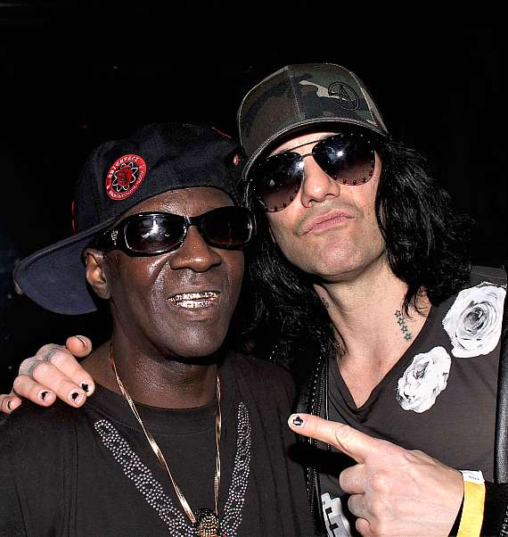 Flavor Flav with Criss Angel at Club 712 at The Rio Las Vegas