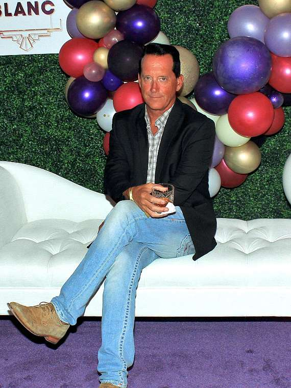 Anthony Cools at Blanc de Blanc grand opening at Sahara Las Vegas