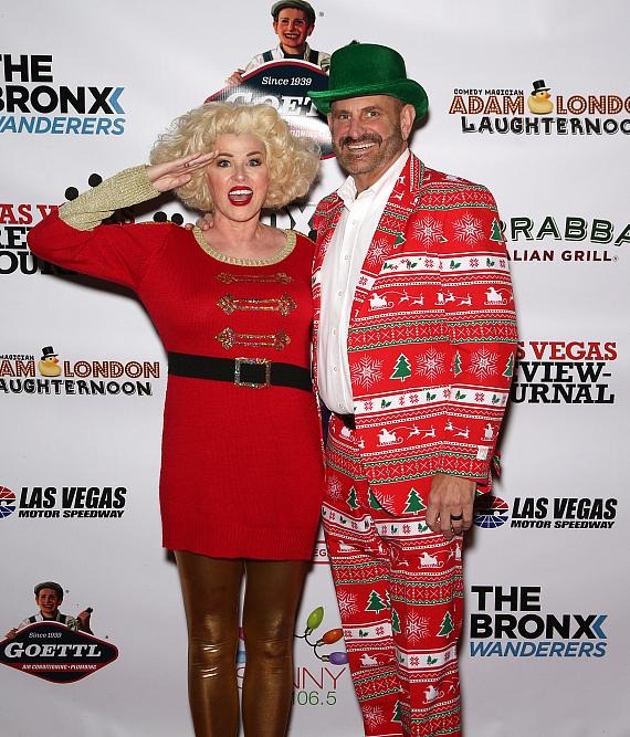 A Holly Jolly Kick Off: Glittering Lights at Las Vegas Motor Speedway Launched Its 19th Season with The Bronx Wanderers and Other Las Vegas Entertainers