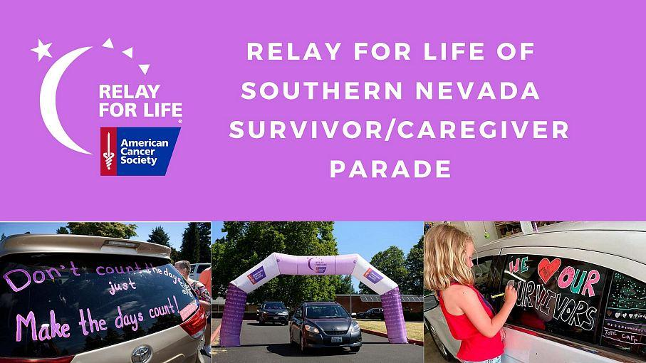 Cancer Survivors and Caregivers invited to Drive-Thru Parade for Relay For Life of Southern Nevada at Rio All-Suite Hotel & Casino