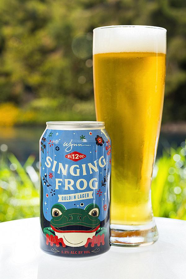 "Wynn Las Vegas Partners with Tenaya Creek Brewery to Launch ""The Singing Frog"" Lager"