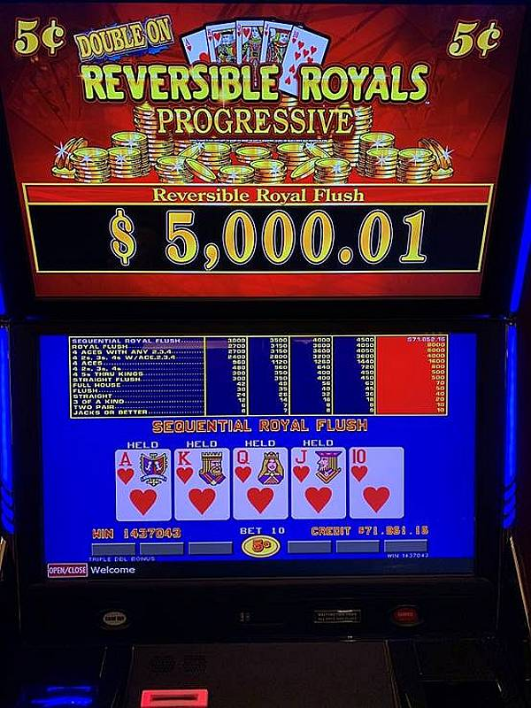 Winners: Two Royal Flushes Hit for Over 70k Within Hours at Green Valley Ranch