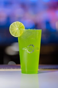 """""""Shamrock Sour,"""" available at Sky Lounge at High Roller Observation Wheel. (Photo Courtesy of High Roller)"""
