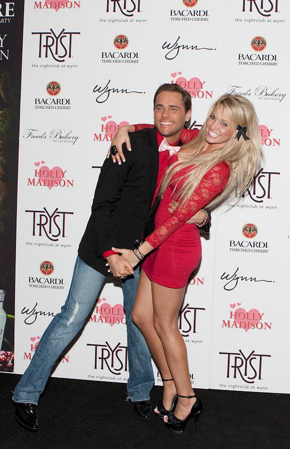 Josh Strickland and Angel Porrino at Tryst