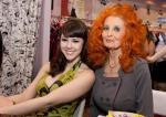 Claire Sinclair and Tempest Storm Bettie Page Clothing at MAGIC