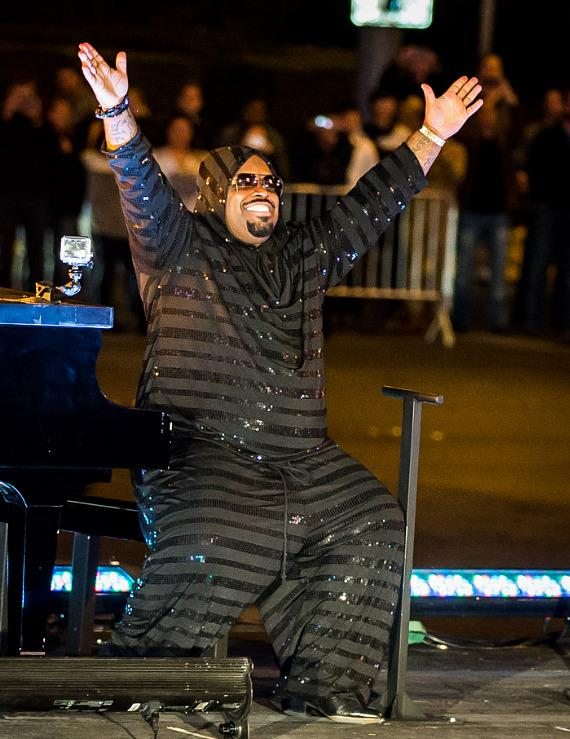 CeeLo Green arrives at Planet Hollywood Resort & Casino