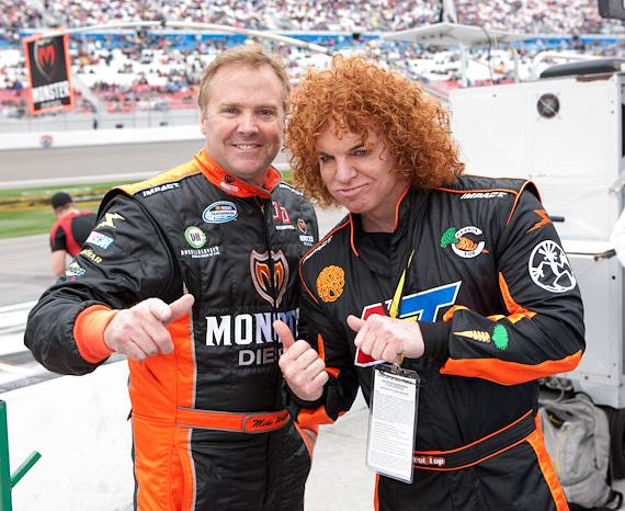 Mike Wallace and Carrot Top