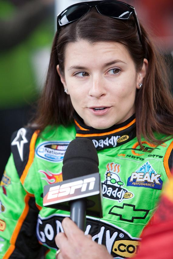 Danica Patrick's final pre-race interview with ESPN