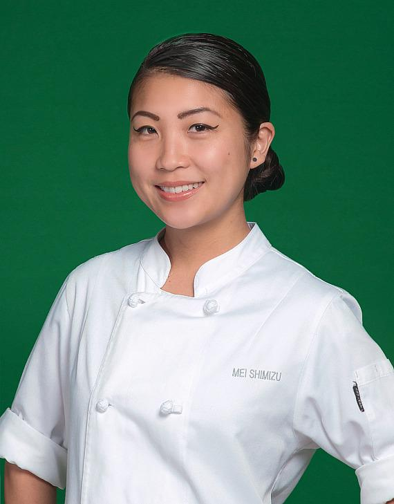 "Chef Mei Shimizu of Aria Resort & Casino is one of this year's participating chefs­ at the Girl Scouts' ""Dinner Before Dessert"" at Caesars Palace"