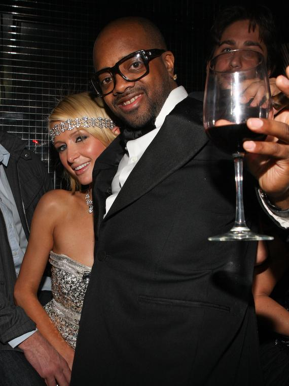 Music mogul Jermaine Dupree toasts the birthday girl