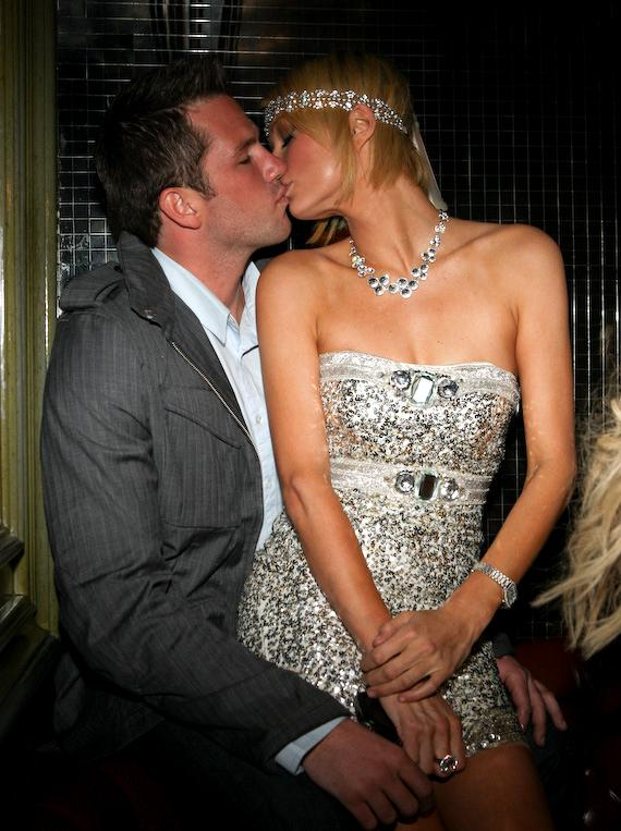 Paris Hilton and Doug Reinhardt at Body English