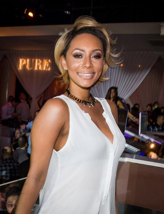 Keri Hilson at PURE Nightclub