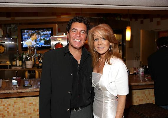 Clint Holmes and his wife at the Golden Nugget