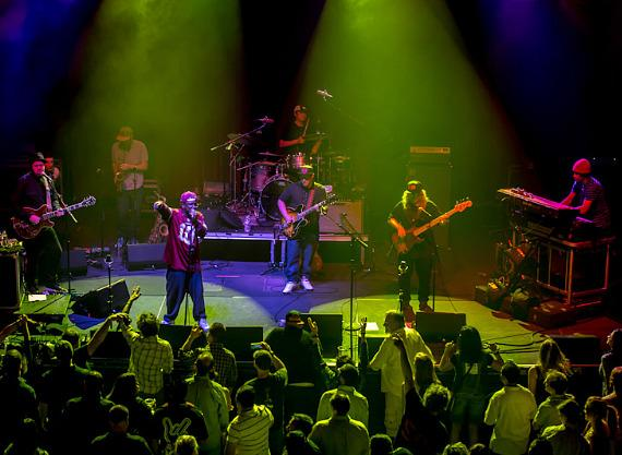 Lettuce performs at Brooklyn Bowl at The LINQ in Las Vegas