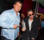 Mike 'The Situation' Sorrentino with Drew Adelam at Rare 120