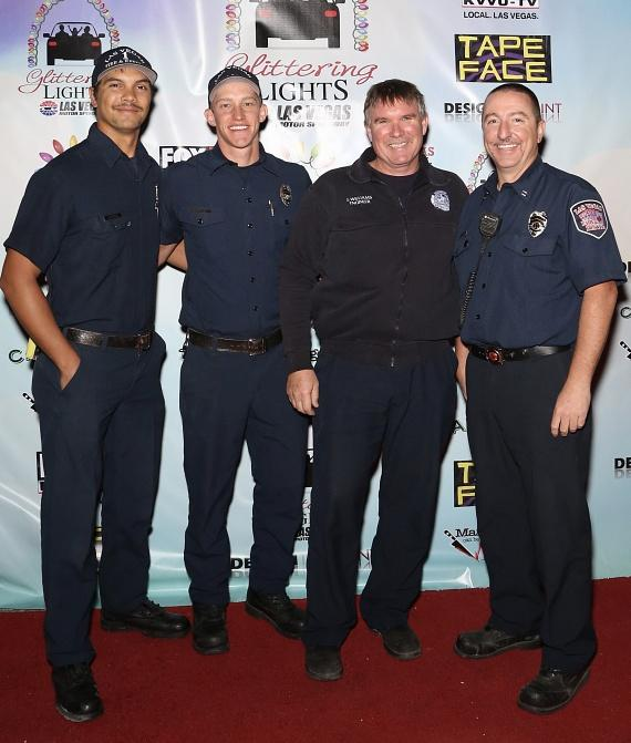 Members of Las Vegas Fire and Rescue Department