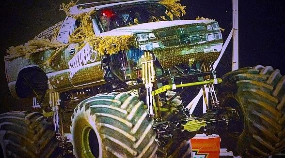 """""""Monster Truck Insanity Tour"""" Invades The Plaza Hotel & Casino in Downtown Las Vegas May 31 and June 1"""