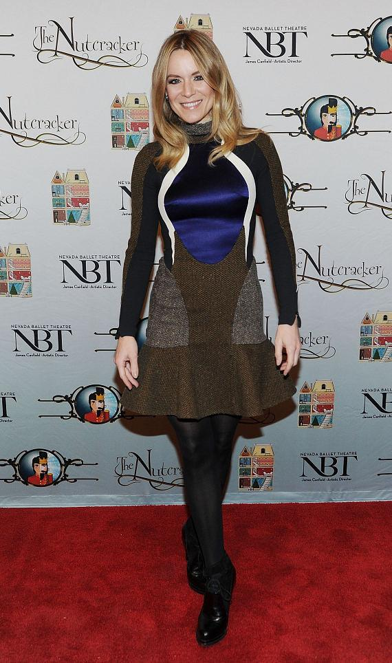 Véronic DiCaire (star of Véronic Voices at Balley's) attends Opening Night of Nevada Ballet Theatre's The Nutcracker at The Smith Center