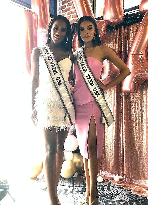 2019 Nevada Pageant Winners Visit Stripside Barbeque Restaurant, Smoked Burgers & BBQ in Las Vegas