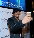 Nick Cannon takes a selfie at 1OAK Nightclub at The Mirage in Las Vegas