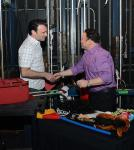Million Dollar Quartet welcomes Jason Alexander backstage at Harrah's Las Vegas