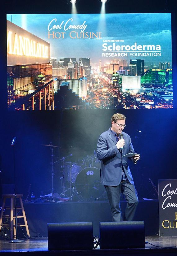 Bob Saget hosts the Scleroderma research fund raiser to help find a cure for Scleroderma at House of Blues Las Vegas