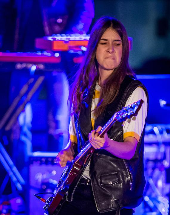 HAIM Performs at Boulevard Pool as part of Valley to Vegas: Spring Concert Series at The Cosmopolitan of Las Vegas