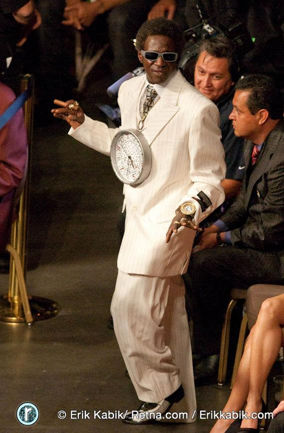 Flavor Flav at the fight