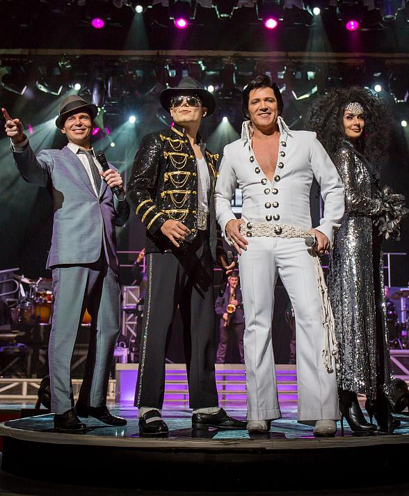 """Legends in Concert"" to Launch All-New Residency at Tropicana Las Vegas February 2019"