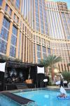 Stage and fashion catwalks at The Palazzo