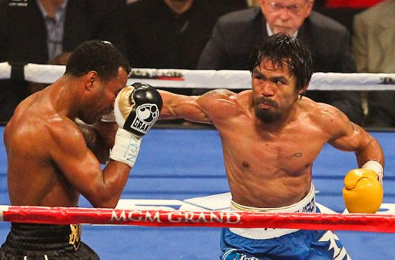 Manny Pacquaio vs. Shane Mosley at MGM Grand Garden Arena