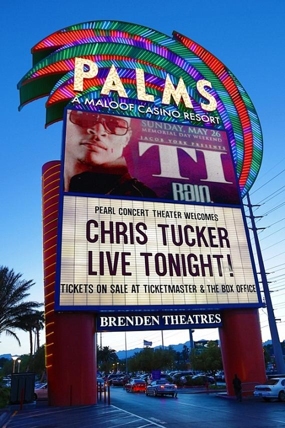 Chris Tucker performs in The Pearl at The Palms