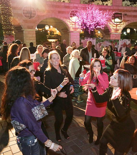 Guests at previous year's Cheers to Chocolate event