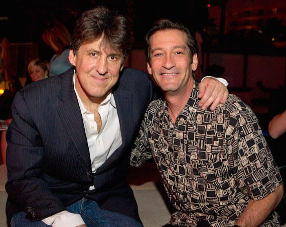 Cameron Crowe and KUNV DJ George Lyons of The Lyons Den