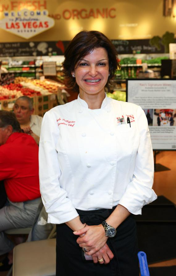 Executive Chef at Rao's Caesars Palace Carla Pellegrino