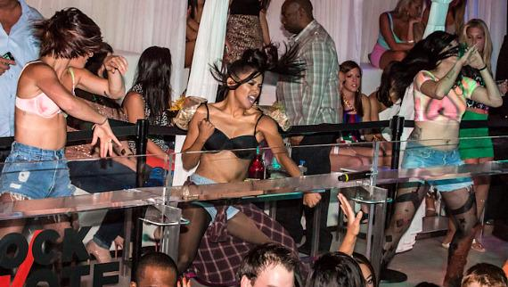 Kat Graham of 'The Vampire Diaries' performs at PURE Nightclub