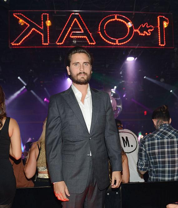 Scott Disick at 1 OAK Nightclub in the Mirage Hotel & Casino
