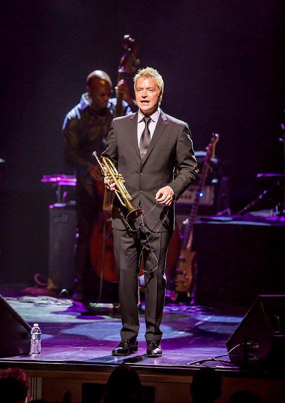 Trumpeter Chris Botti performs at Reynolds Hall at The Smith Center in Las VegasTrumpeter Chris Botti performs at Reynolds Hall at The Smith Center in Las Vegas