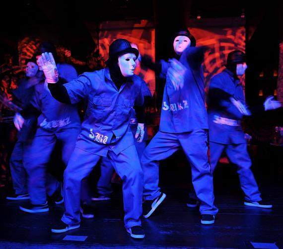 Jabbawockeez, season one winners of MTV's America's Best Dance Crew