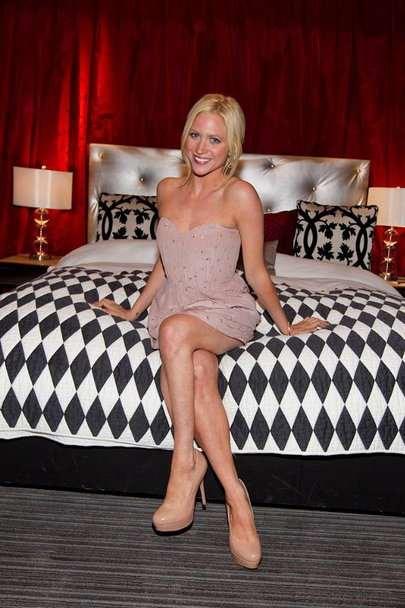 Brittany Snow at Real World Suite at Hard Rock Hotel Las Vegas