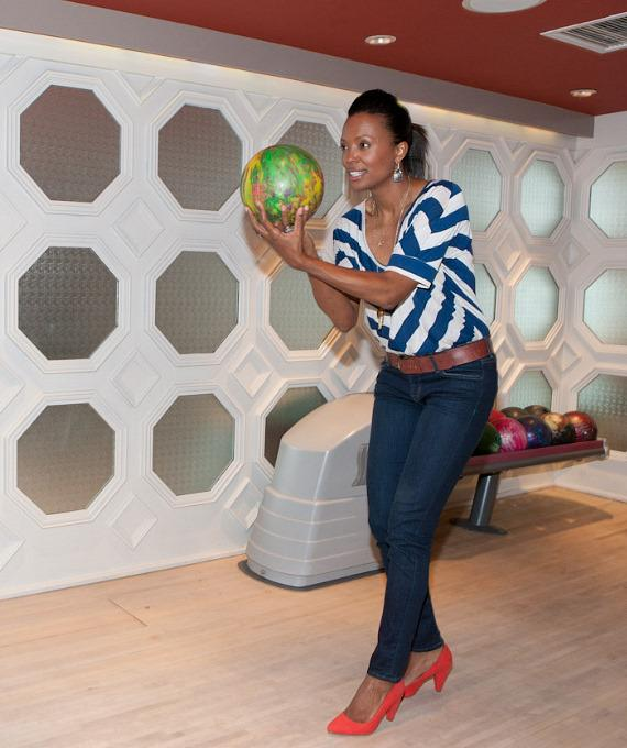 Aisha Tyler at the Hard Rock Hotel in Las Vegas