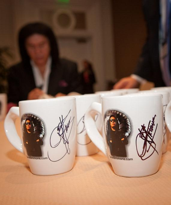 Gene Simmons hosts Annual Weldbend /IPD Breakfast at Bellagio in Las Vegas