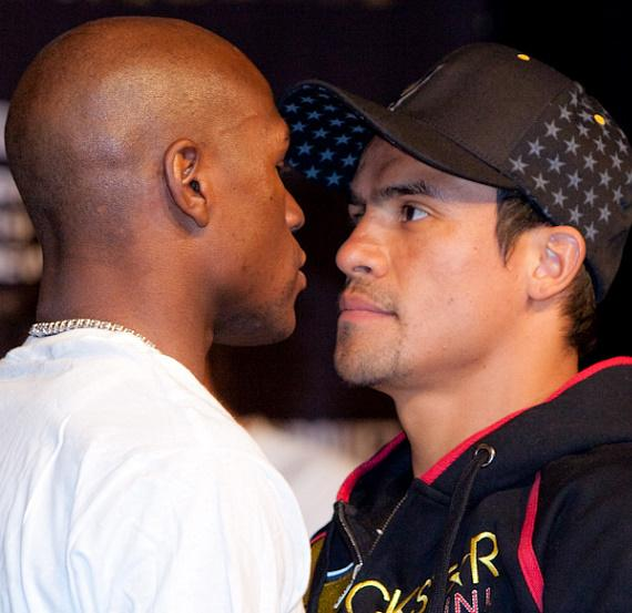 Mayweather vs. Marquez press conference