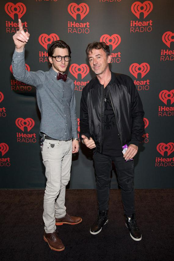 Gary Go and Benny Benassi at iHeartRadio Music Festival