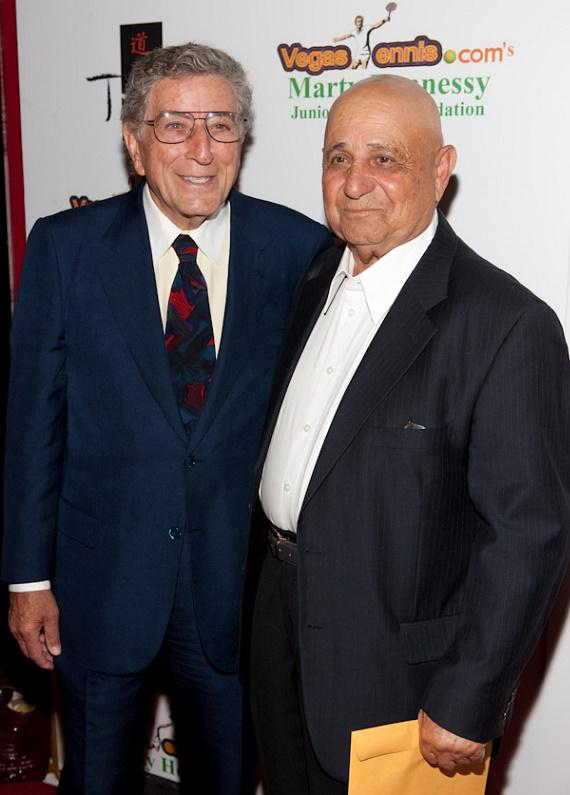Tony Bennett and Mike Agassi