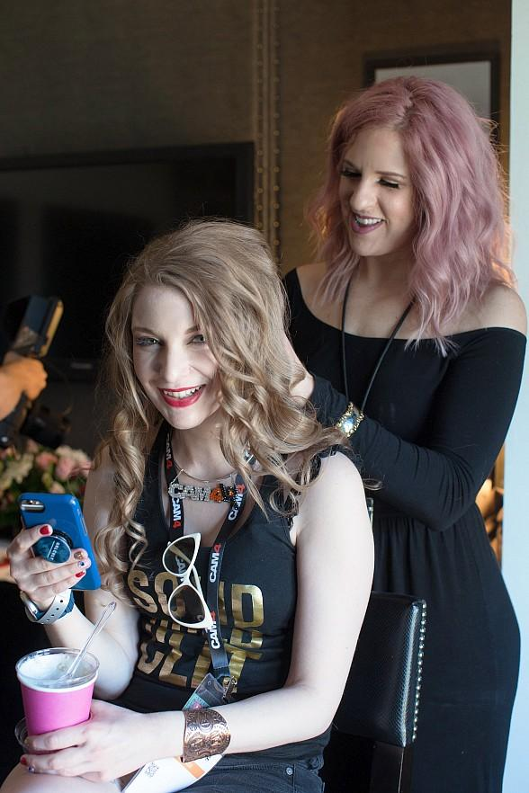 The Cupcake Girls Provide Talent-Only Relaxation Suite Sponsored by iWantClips at the 2019 AVN Adult Entertainment Expo