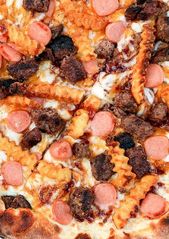 """Flour & Barley Launches """"The All-American"""" Patriotic Pizza (The Pizza to End All Pizzas)"""